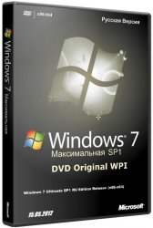 Microsoft Windows 7 Максимальная SP1 DVD Original WPI 03.06.2012