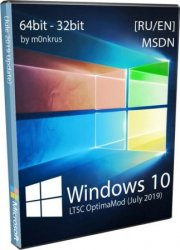 Windows 10 by m0nkrus x86/x64 1809 LTSC 2019 OptimaMod