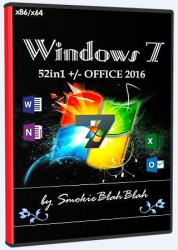 Windows 7 SP1 (x86/x64) 52in1 +/- Office 2016 by SmokieBlahBlah 19.10.20 (Ru/En)
