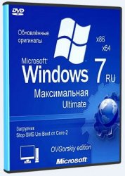 Microsoft® Windows® 7 Ultimate Ru x86/x64 nBook IE11 by OVGorskiy 06.2021 1DVD