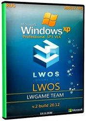 Windows XP Pro SP3 VLK Rus LWOS v2 build 20.12 LWGamе (x86)